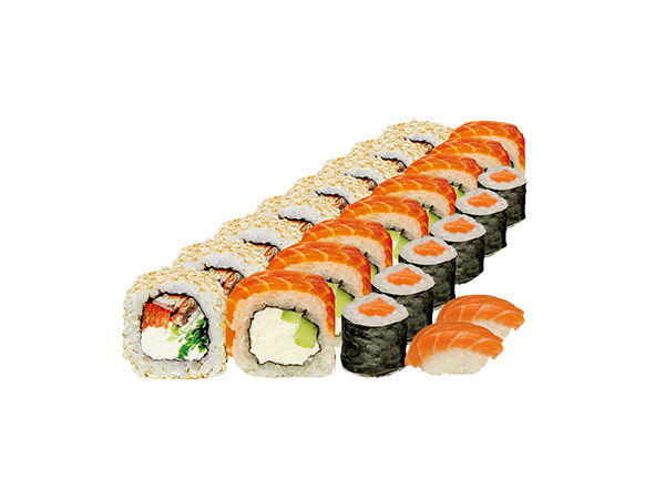 Philadelphia for 2 persons set - Photo 1 - Sushi delivery in Kyev from Sushi-Point