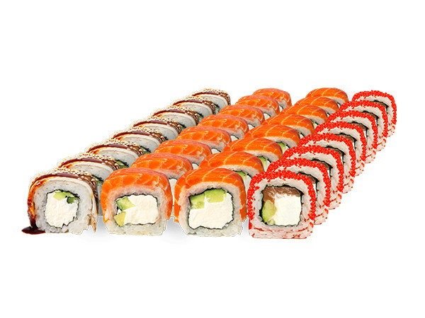 Philadelphia set - Photo 1 - Sushi delivery in Kyev from Sushi-Point